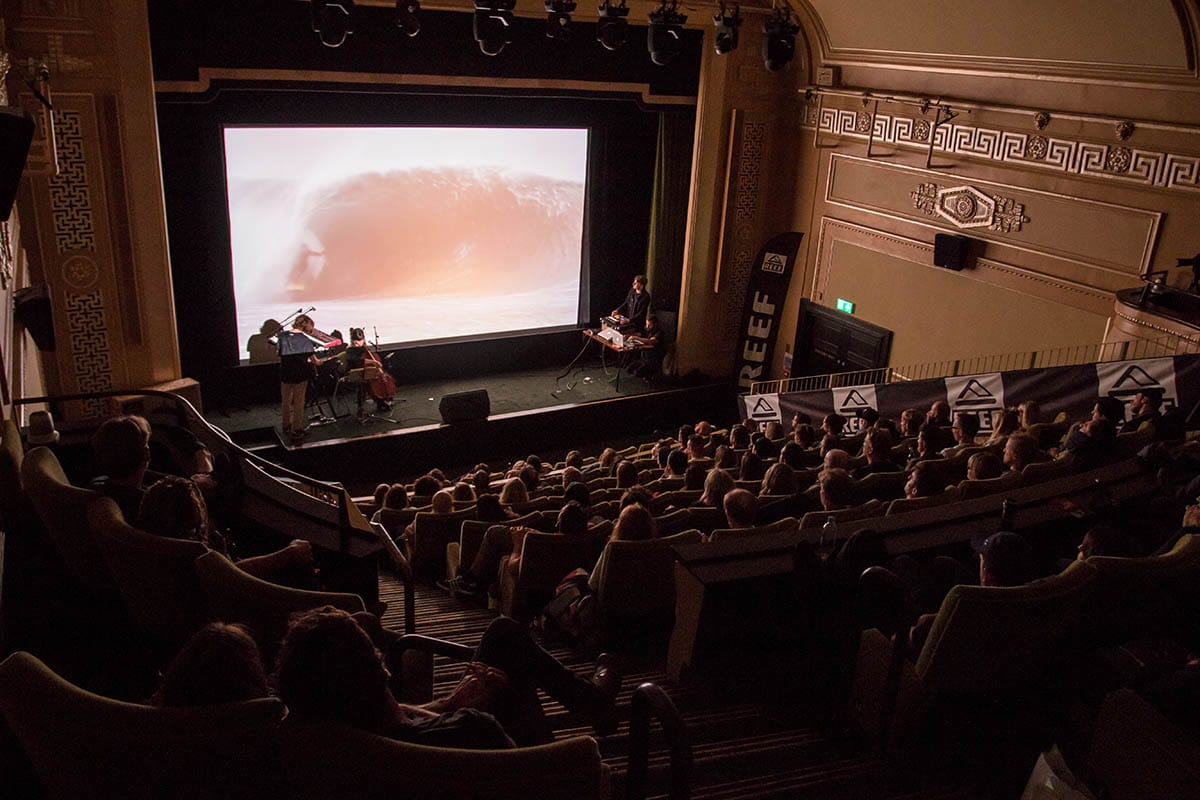 London Surf / Film Festival packed house