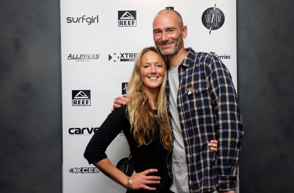 Chris Nelson and Demi Taylor London Surf / Film Festival founders