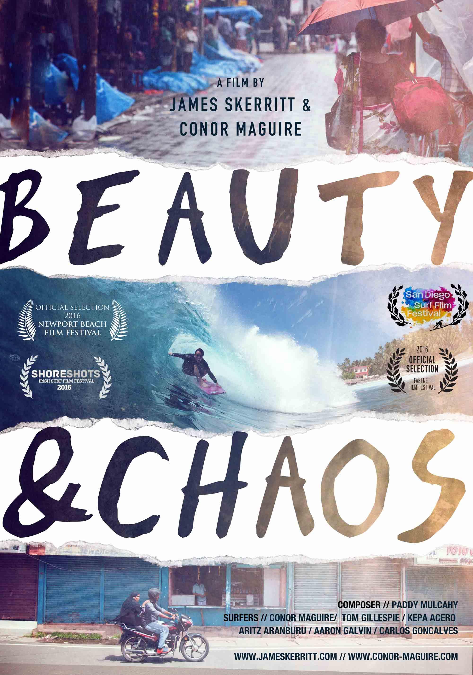 Beauty & Chaos UK Premiere London Surf Film Festival