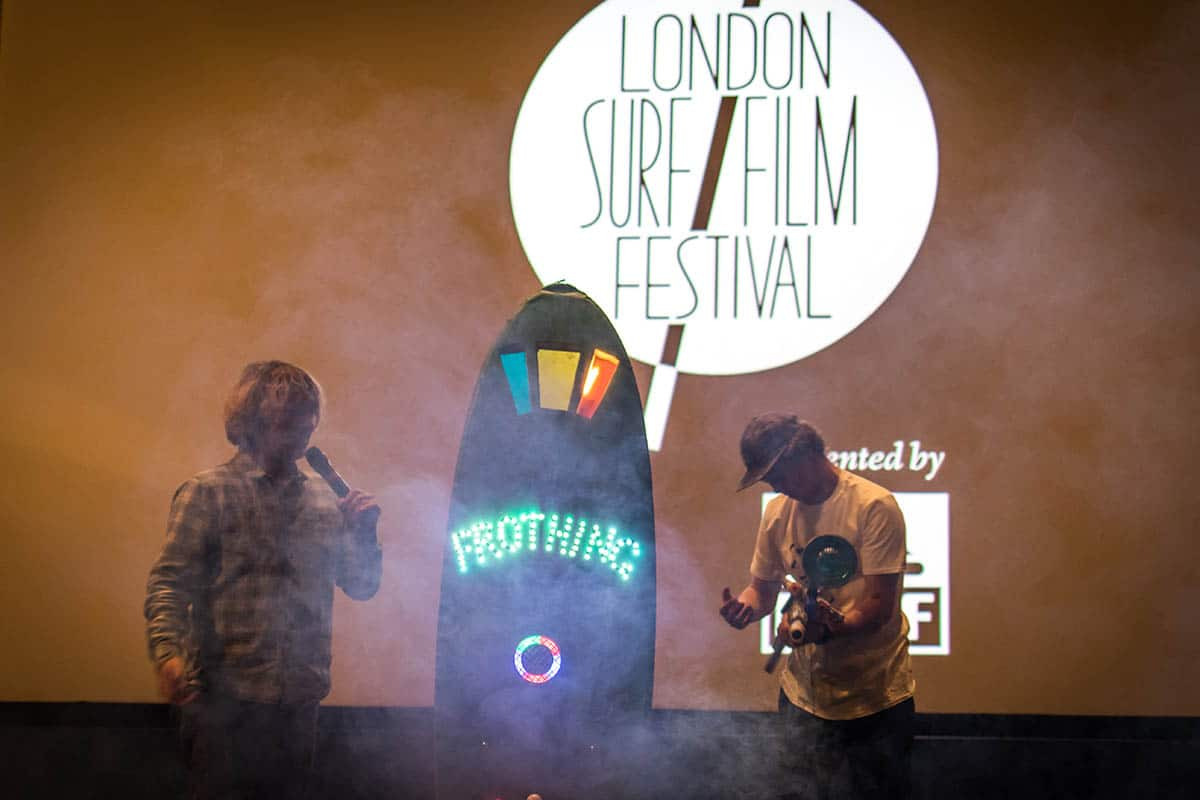 Frothing off the dial for The Zone at LS/FF 2016 // Image Peter Chamberlain