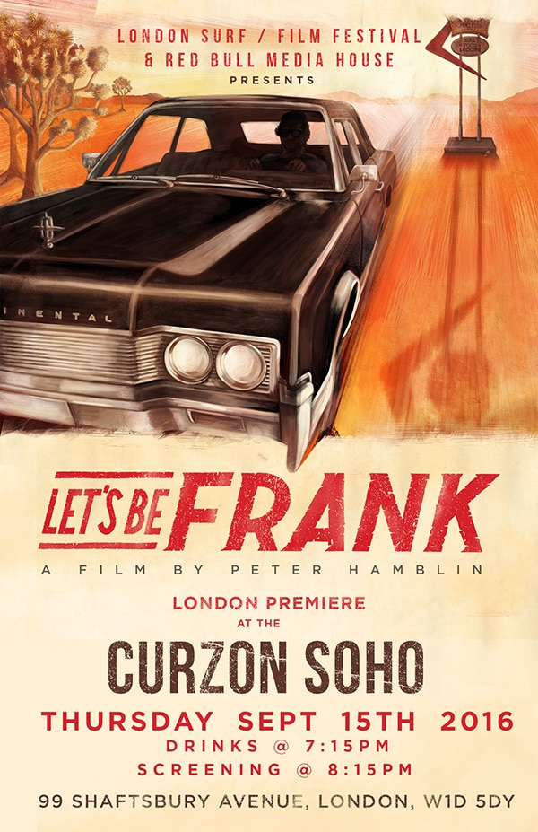 Let's Be Frank London Premiere