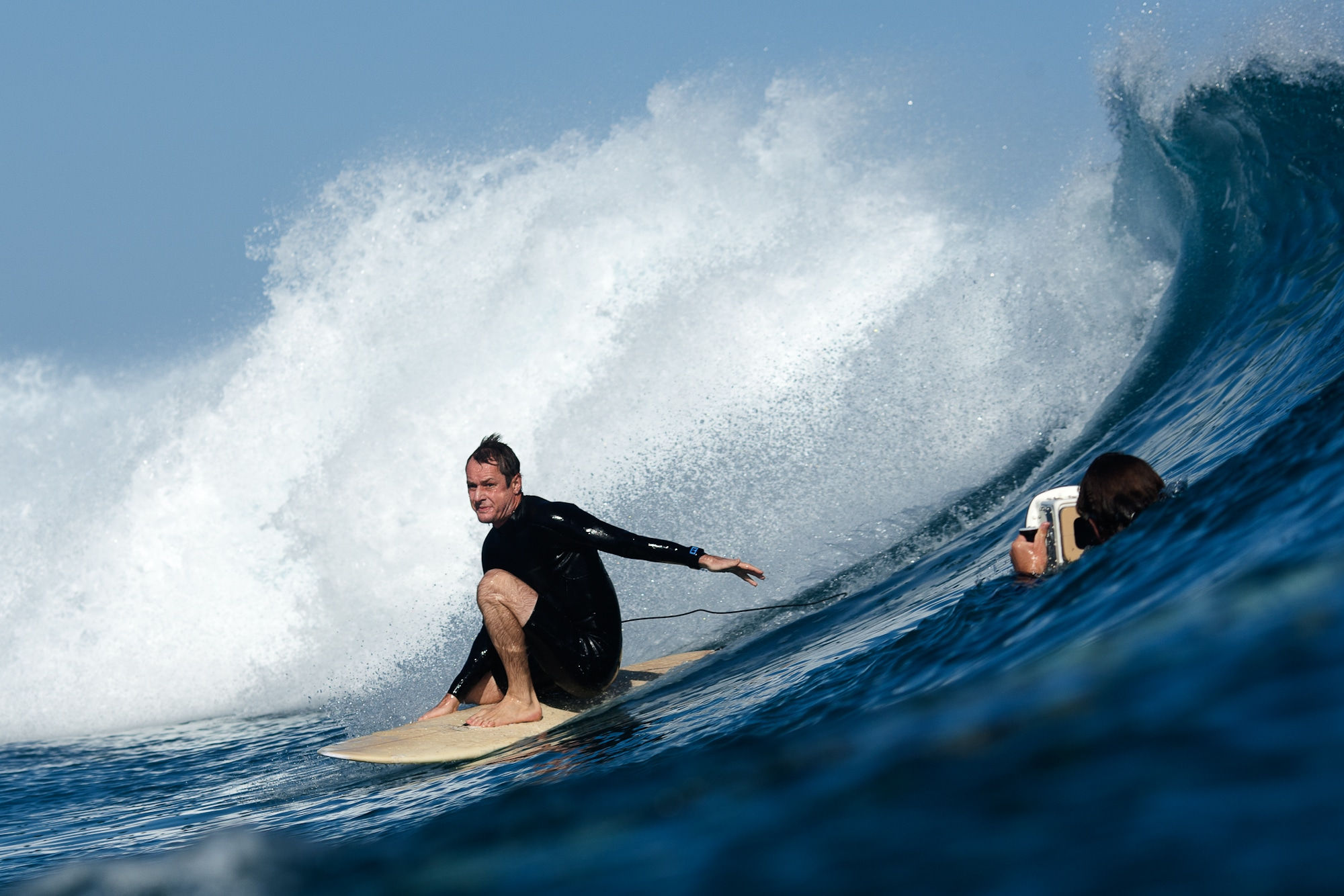 Composer and surfer Richard Tognetti // The Reef credit Edward Sloane