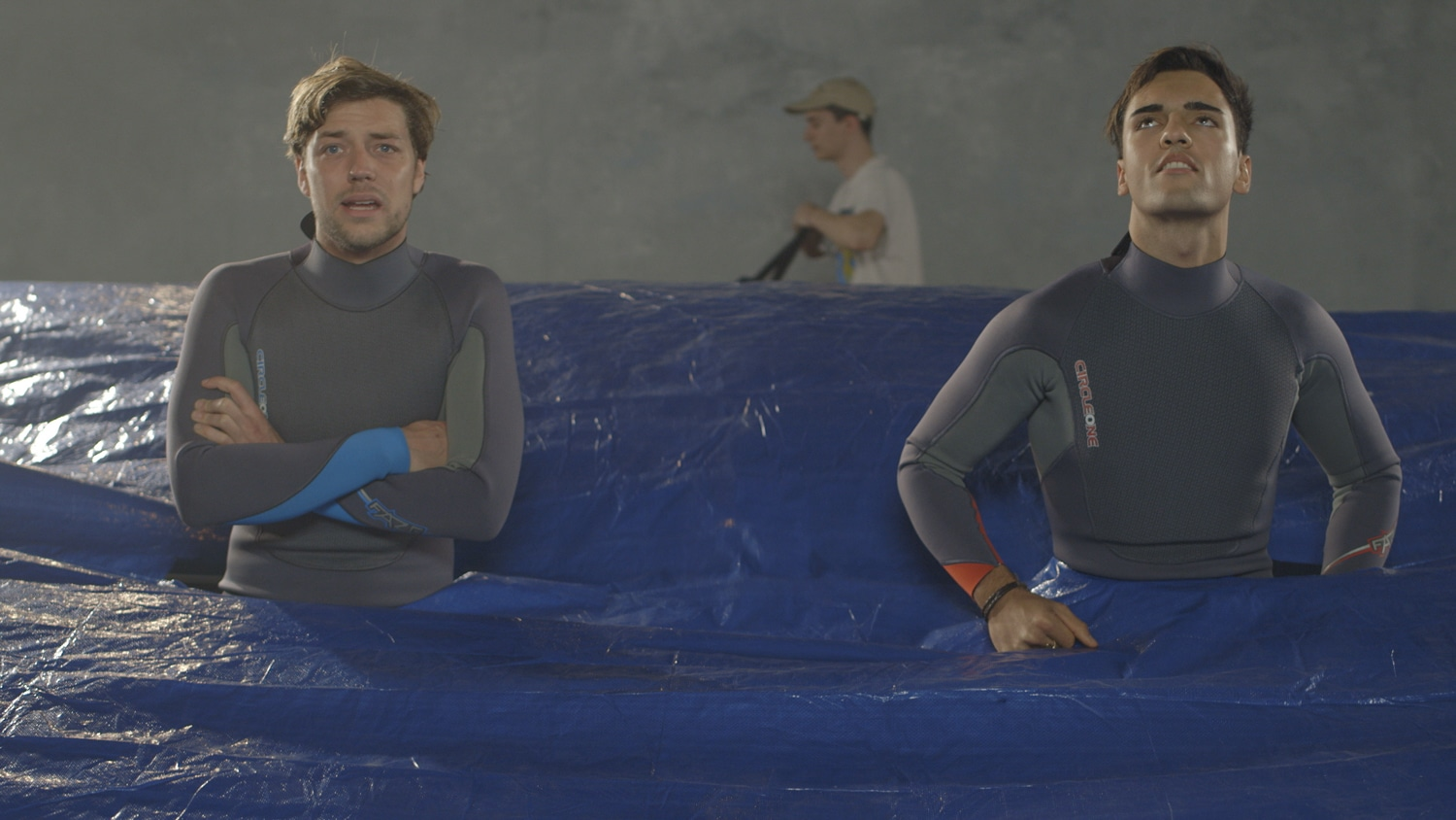 The Shorties entry: High Rollers // A film by Laurence Donoghue. Two wannabe pro surfers eagerly await the turn of the tide. A quirky, existential comedy.