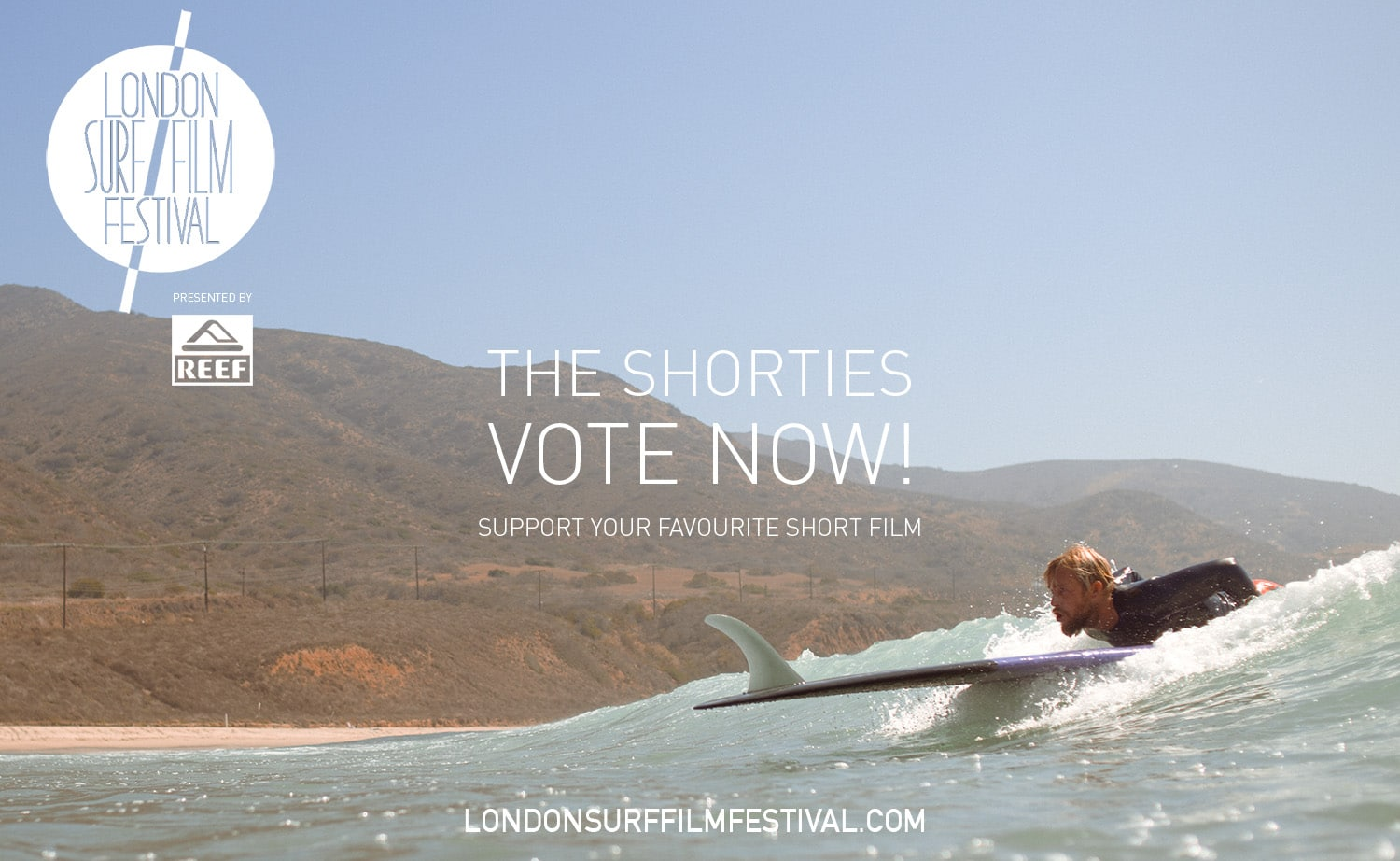 London Surf / Film Festival Shorties: Short film contest celebrating the very best of British & Irish homegrown surf filmmaking - animation, drama, action, comedy, documentary, travelogue & more