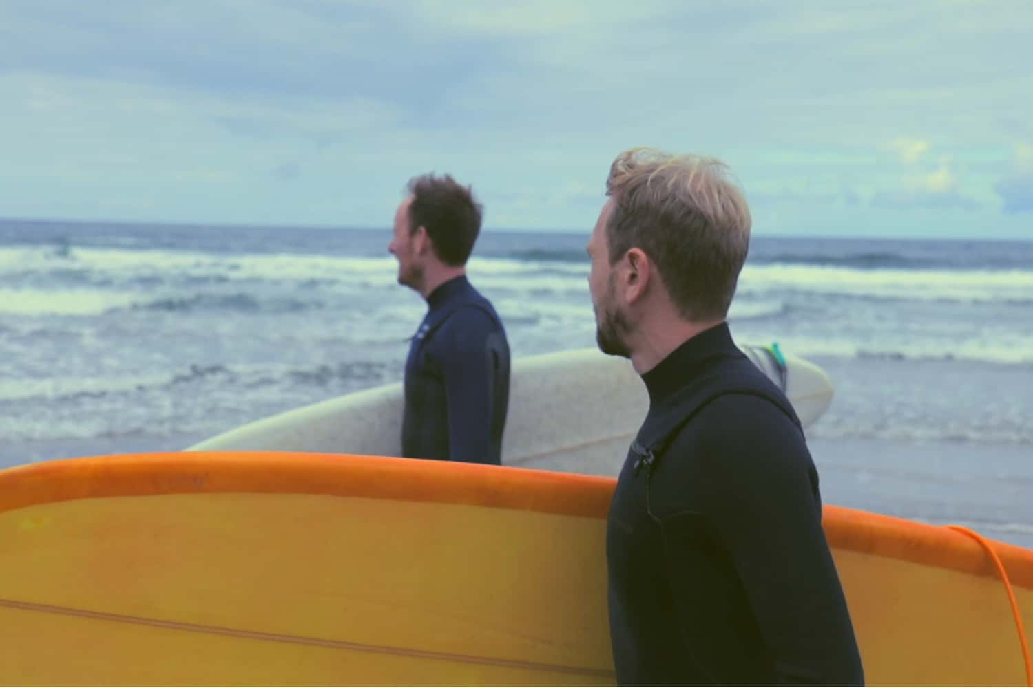 The Shorties entry: Woods to Waves // A film by David O'Carroll. Irish surfers Ian Walton & Eoin McNally create a new surf wax during their down time.