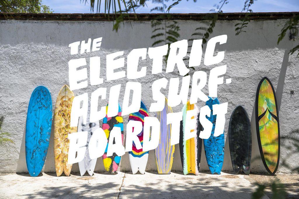 London Surf Film Festival European Premiere The Electric Acid Surfboard Test