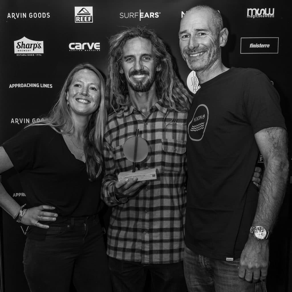 Rob Machado in the house for the Momentum Generation Premiere