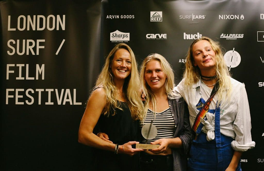 Best British Film: The Sea Empowers Dir. Lucy Jane & Joya Berrow (with LS/FF Director Demi Taylor)