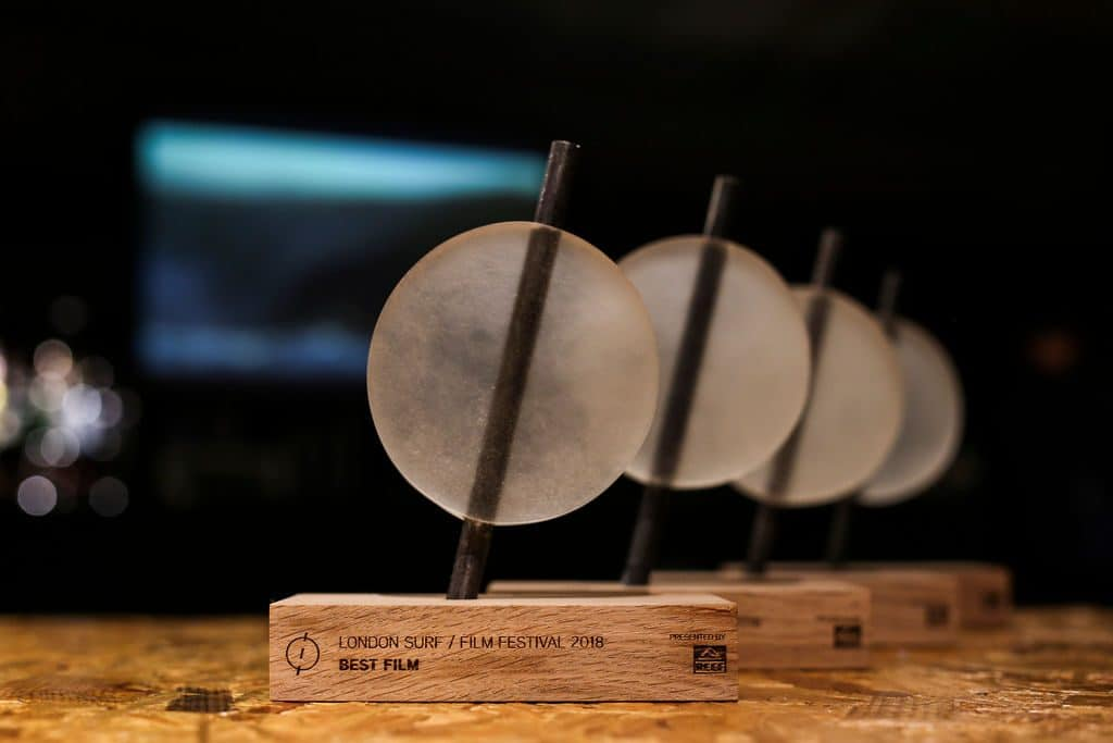 The awards London Surf / Film Festival 2018