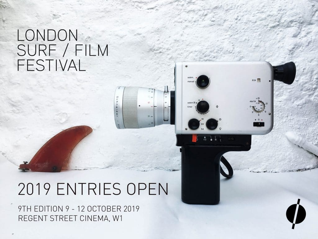 LONDON SURF FILM FESTIVAL 2019 ENTRIES OPEN