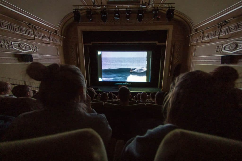 Full house for the London Surf / Film Festival at the iconic Regent Street Cinema