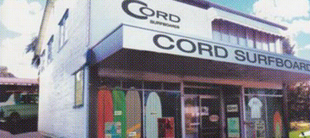The Original Cord Surfboard factory in Oz